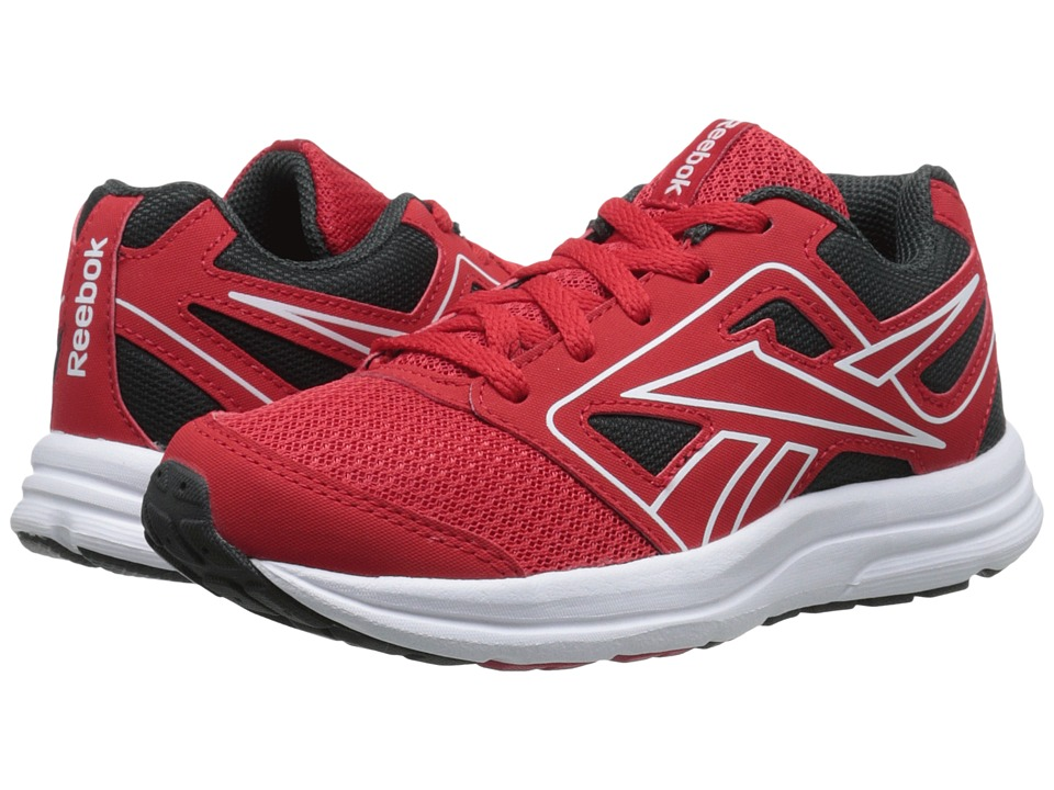 Reebok Kids - Zone Cushrun (Little Kid/Big Kid) (Red Rush/Gravel/White) Boys Shoes