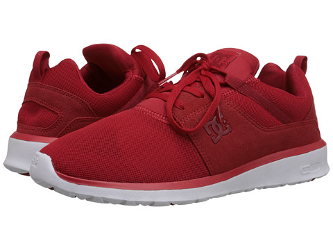 DC - Heathrow (Red/White) Skate Shoes