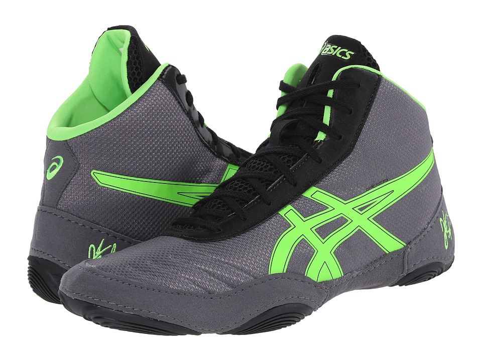 ASICS - JB Elite V2.0 (Granite Green/Green Gecko/Black) Men's Wrestling Shoes
