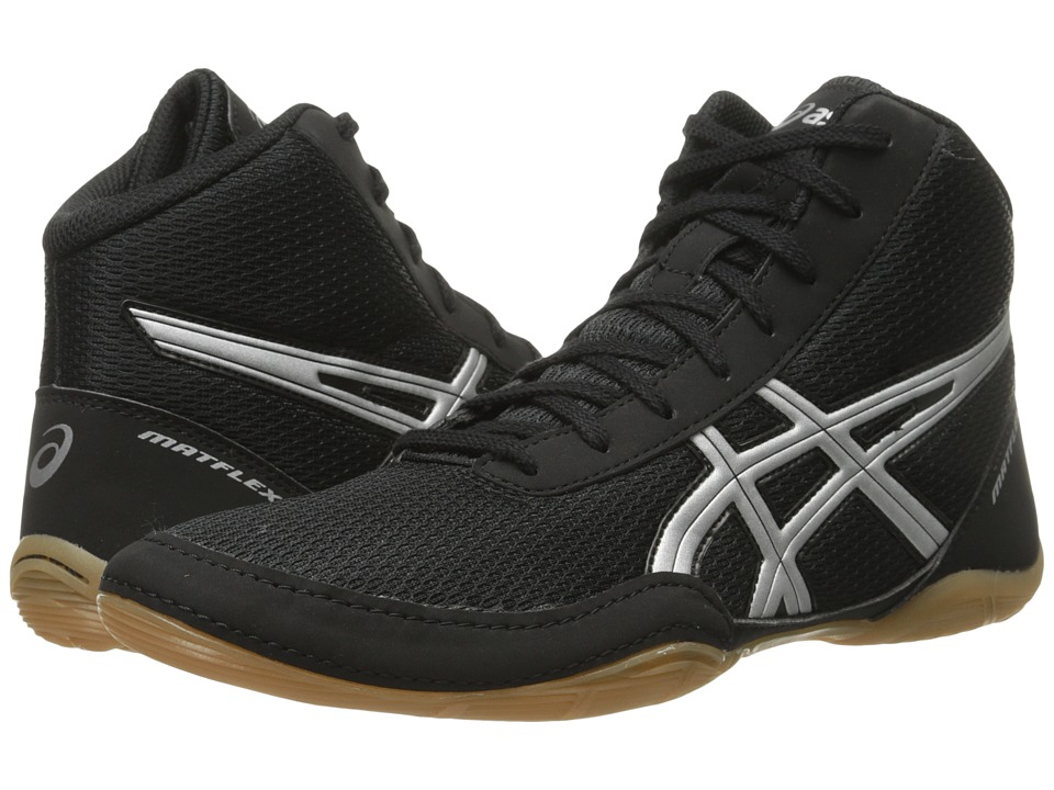 ASICS Matflex 5 (Black/Silver) Men