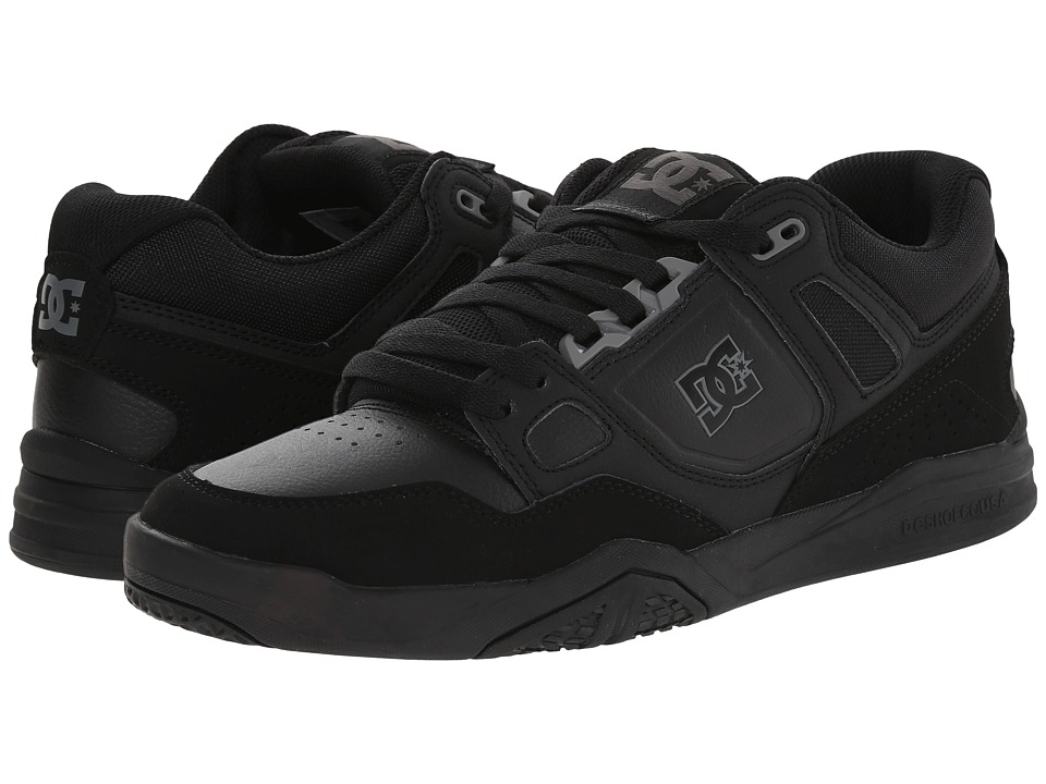 DC - Stag 2 (Black) Men's Skate Shoes