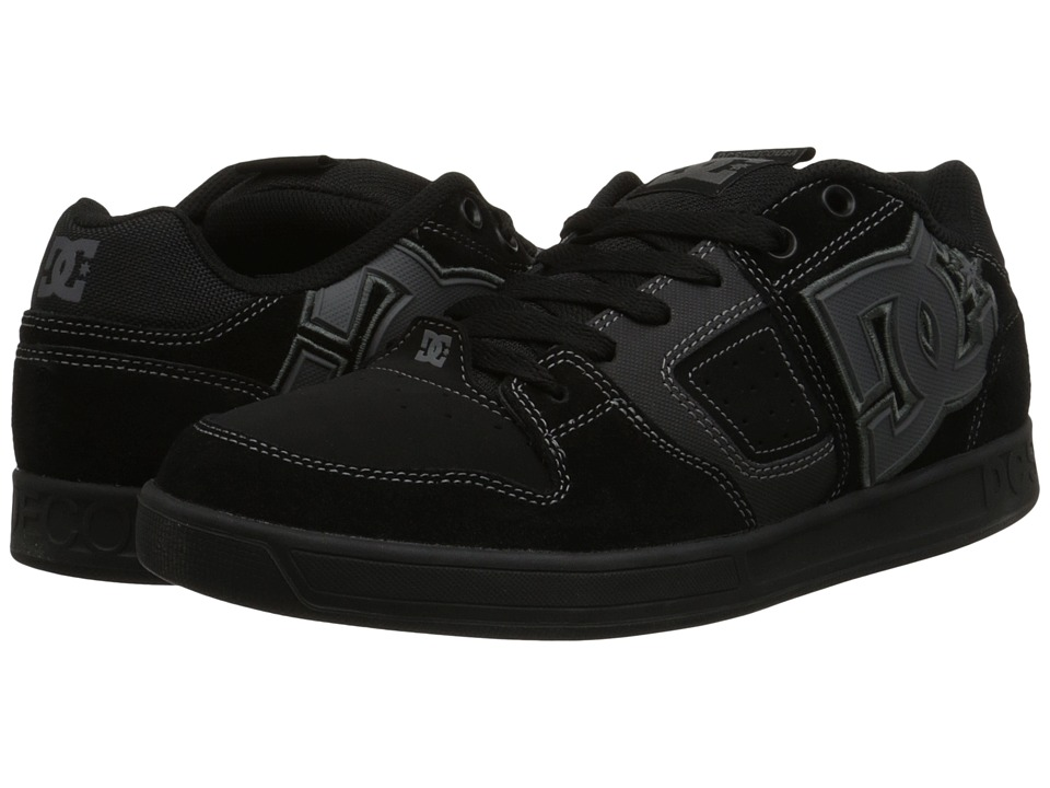 DC - Sceptor SD (Black/Black/Grey) Men's Skate Shoes