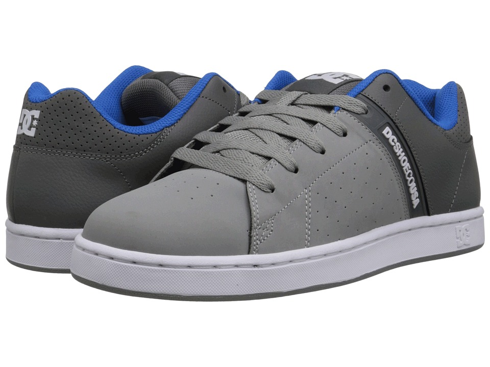 DC - Wage (Grey) Men's Skate Shoes