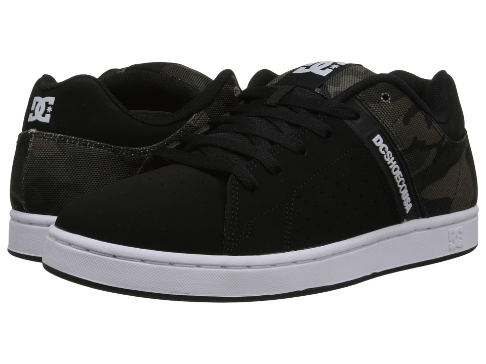 DC - Wage SE (Black Camo) Men's Skate Shoes