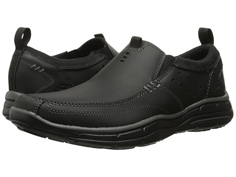 SKECHERS - Relaxed Fit Glides - Ramis (Black) Men