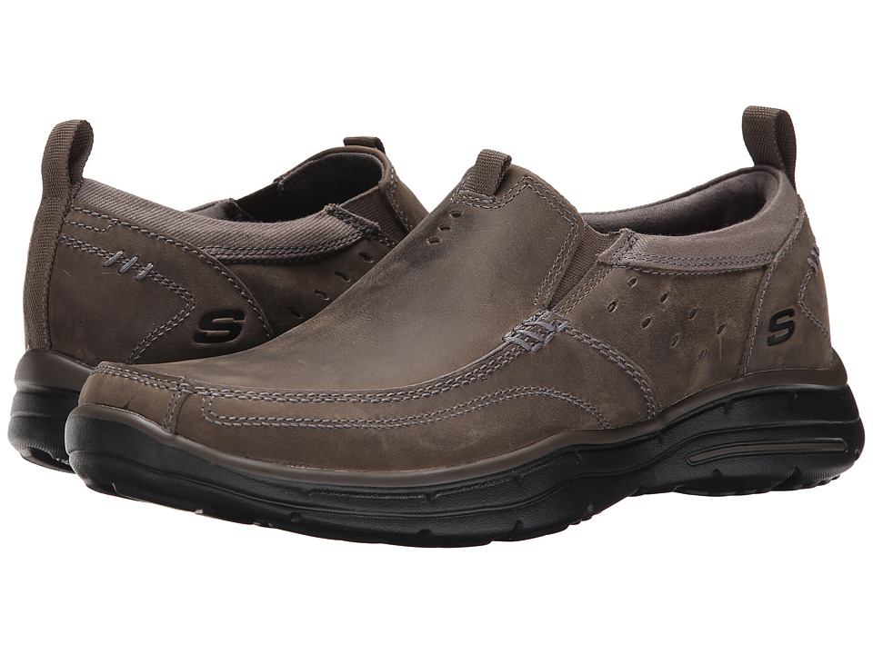 SKECHERS - Relaxed Fit Glides - Ramis (Charcoal) Men