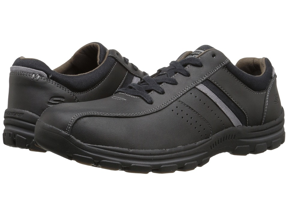 SKECHERS Relaxed Fit Braver Alfano (Black) Men