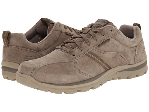 SKECHERS - Relaxed Fit Superior - Abrasive (Light Brown) Men