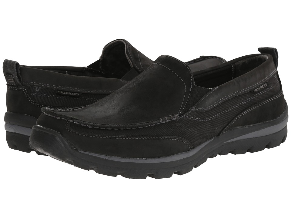 SKECHERS - Relaxed Fit Superior - Dimos (Black) Men
