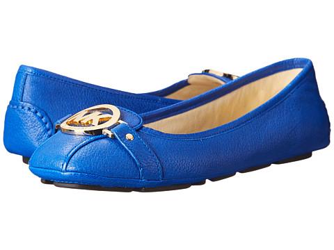 MICHAEL Michael Kors - Fulton Moc (Electric Blue Tumbled Leather) Women