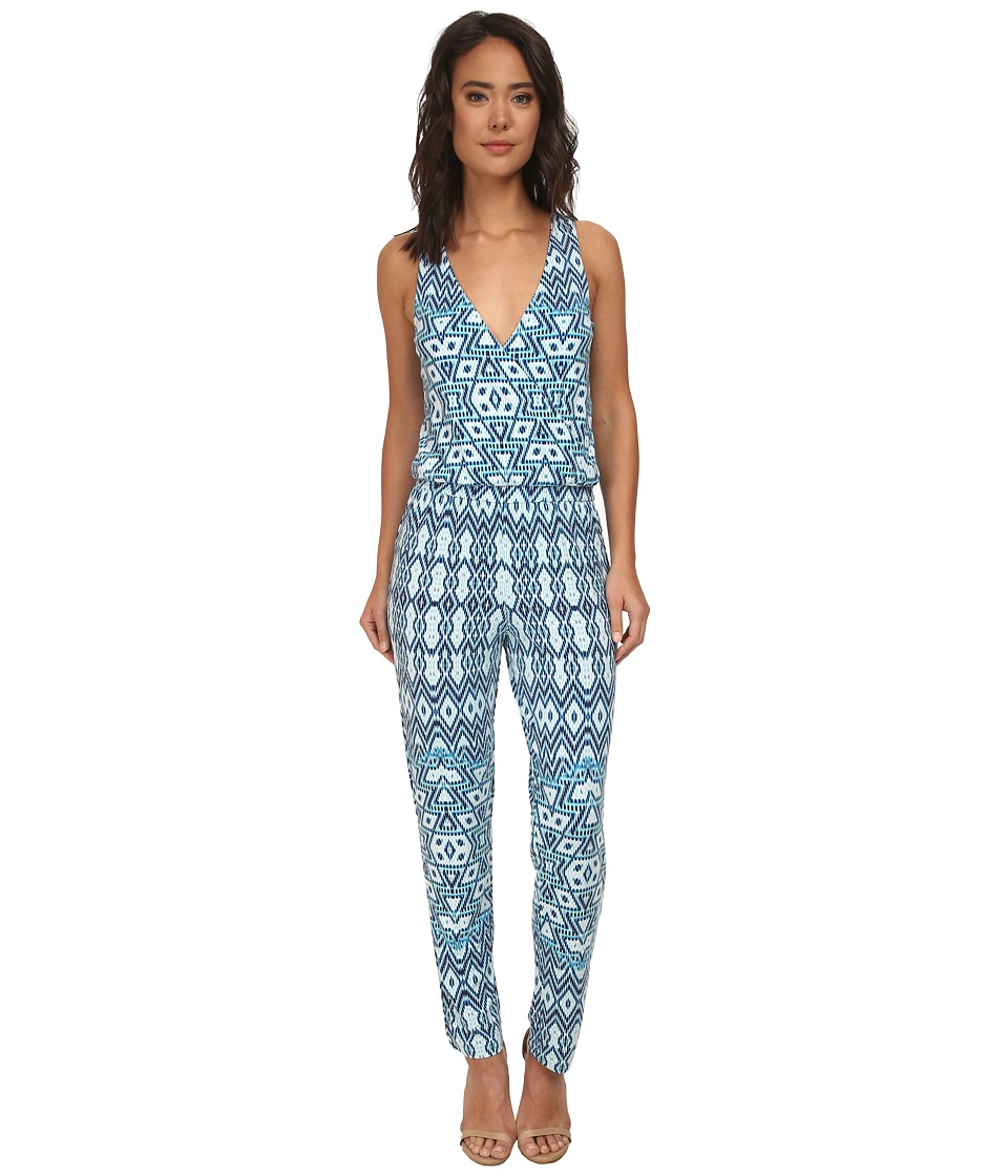 Tart - Rhody Jumper (Aqua Aztec) Women's Jumpsuit & Rompers One Piece