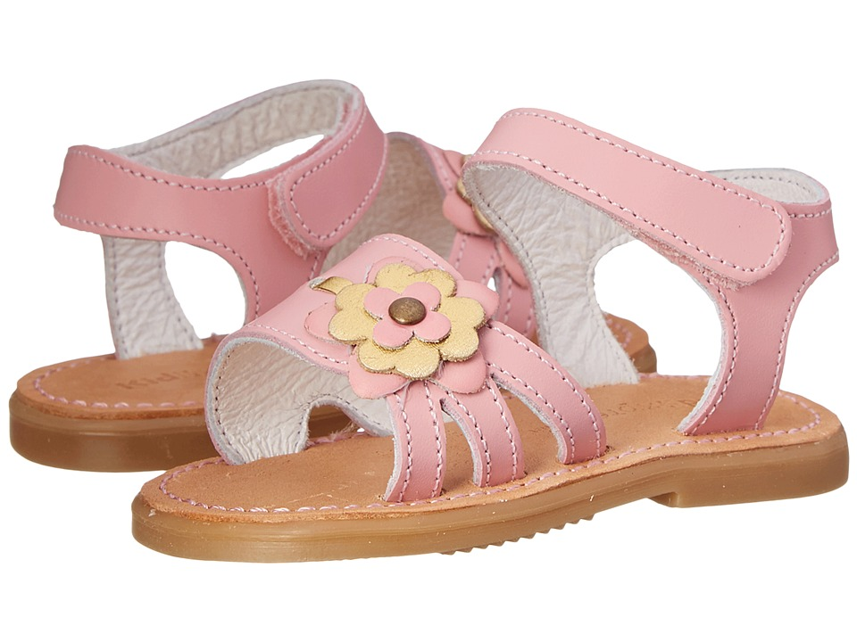 Kid Express - Casey (Infant/Toddler) (Pink Leather) Girls Shoes