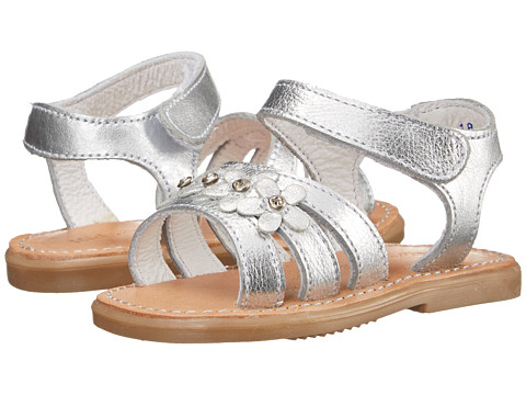Kid Express - Cesia (Infant/Toddler) (Silver Metallic) Girls Shoes