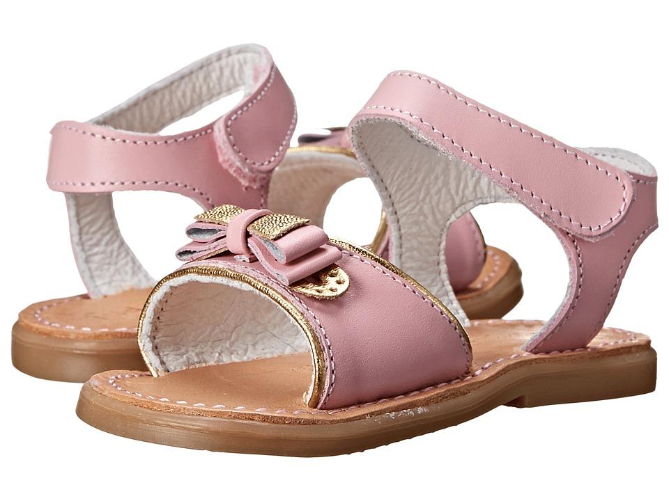 Kid Express - Terra (Infant/Toddler) (Pink Leather) Girls Shoes