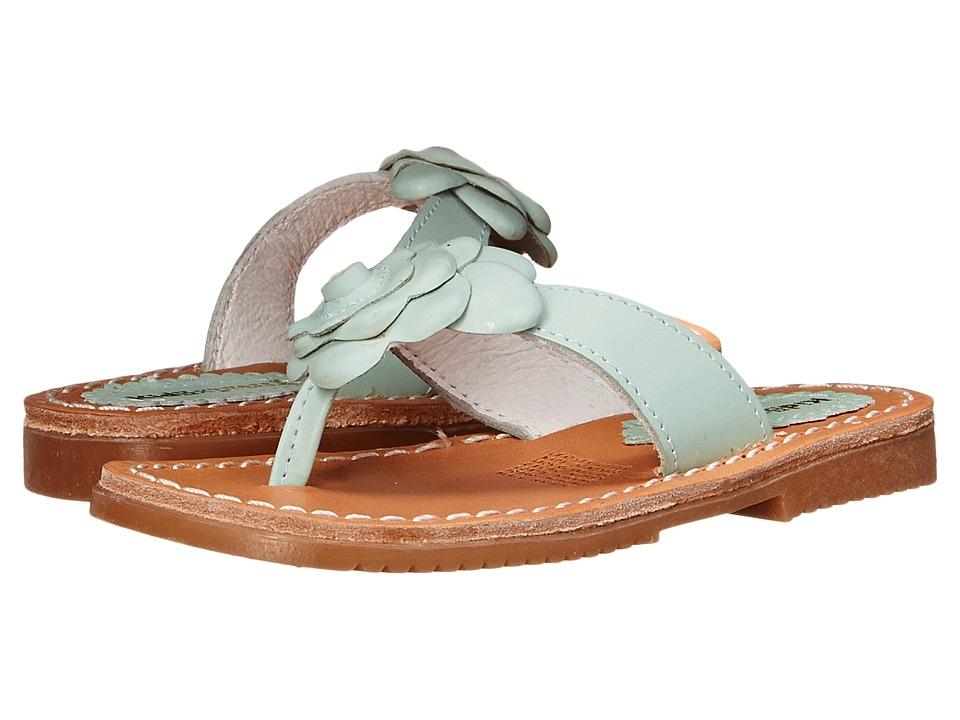 Kid Express - Kourtney (Toddler/Little Kid/Big Kid) (Mint Leather) Girls Shoes