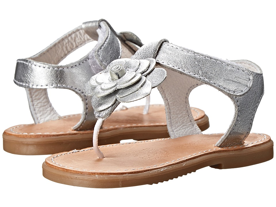 Kid Express - Coraline (Infant/Toddler) (Silver Metallic) Girls Shoes