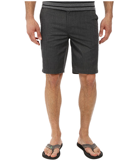 Reef - Auto Redial 3 Walkshorts (Black) Men