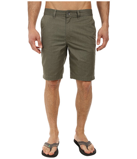 Reef - Auto Redial 3 Walkshorts (Olive) Men's Shorts