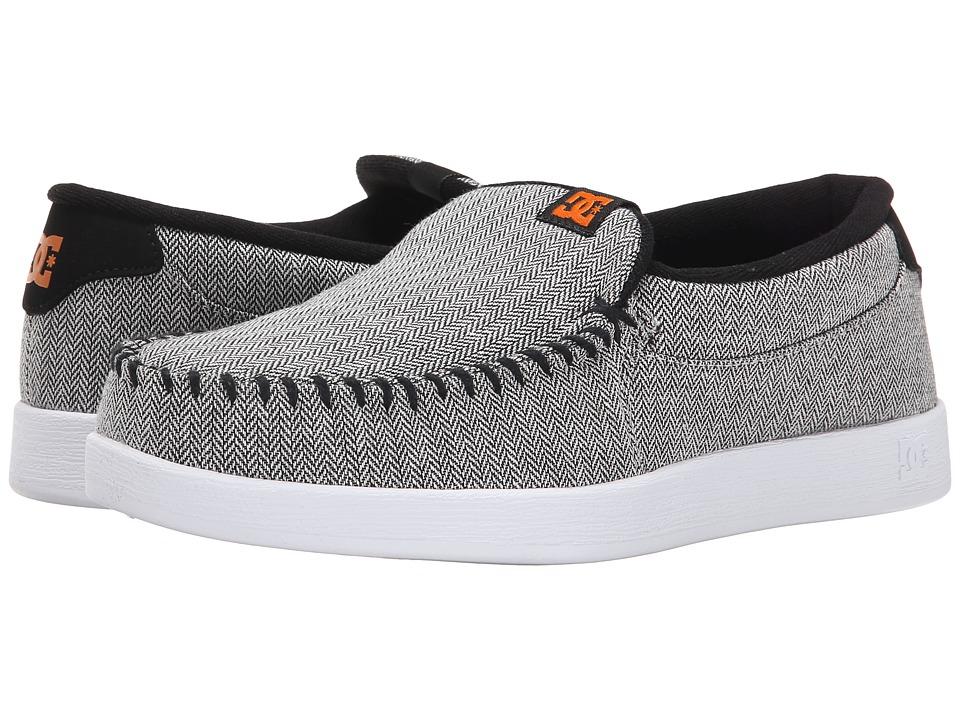 DC - Villain TX SE (Grey/Black/Orange) Men's Skate Shoes