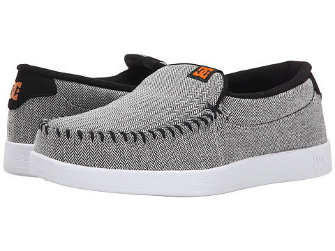 DC - Villain TX SE (Grey/Black/Orange) Men's Skate Shoes