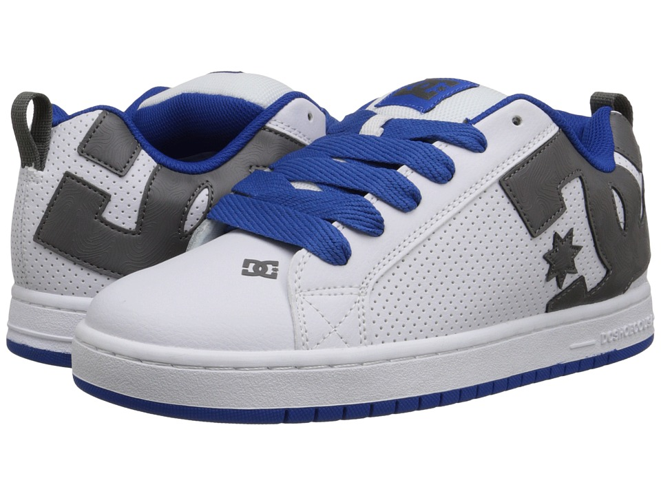 DC - Court Graffik (White/Blue/Grey) Men