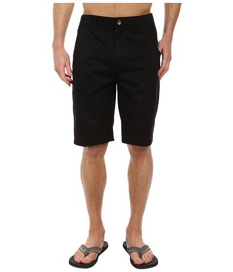 Reef - Moving On 2 Walkshorts (Black) Men's Shorts