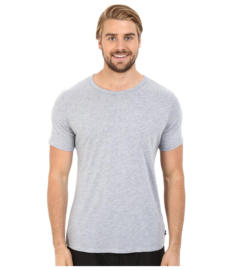 Nike - Solid Futura Tee (Dark Grey Heather/Black) Men's T Shirt