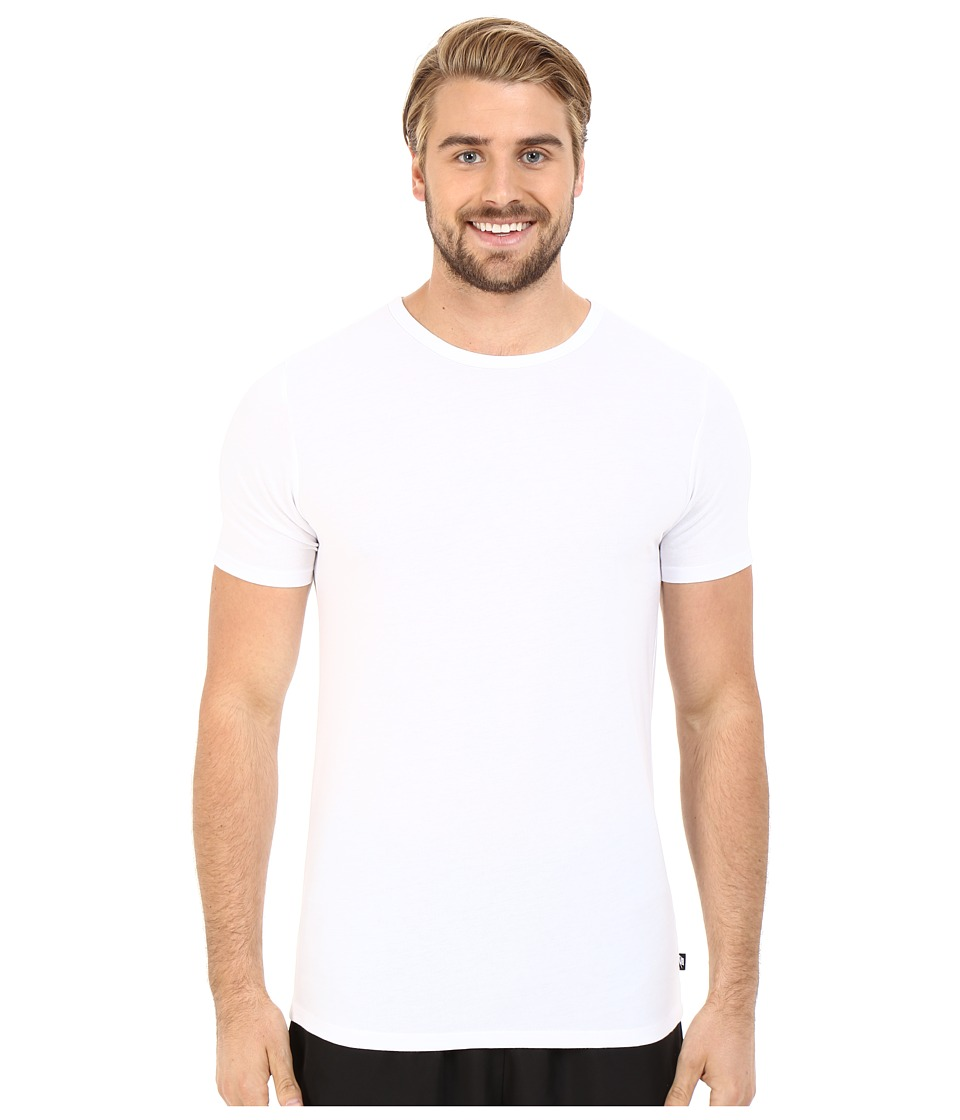 Nike - Solid Futura Tee (White/Black) Men's T Shirt