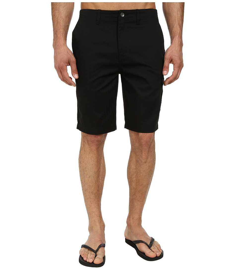 Reef - Rolling On Cargo Walkshort (Black) Men's Shorts