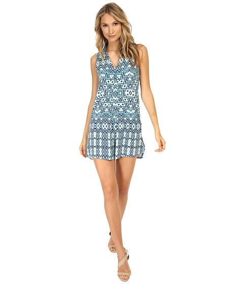 Tart - Tara Dress (Aqua Aztec) Women's Dress
