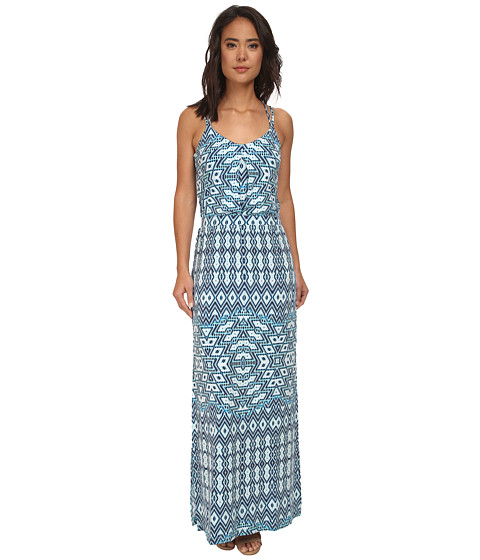 Tart - Alyda Maxi (Aqua Aztec) Women's Dress