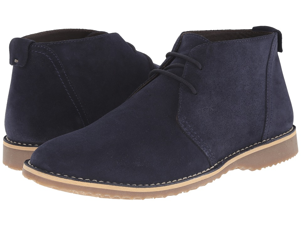 Geox - U Zal 1 (Dark Blue) Men's Lace-up Boots