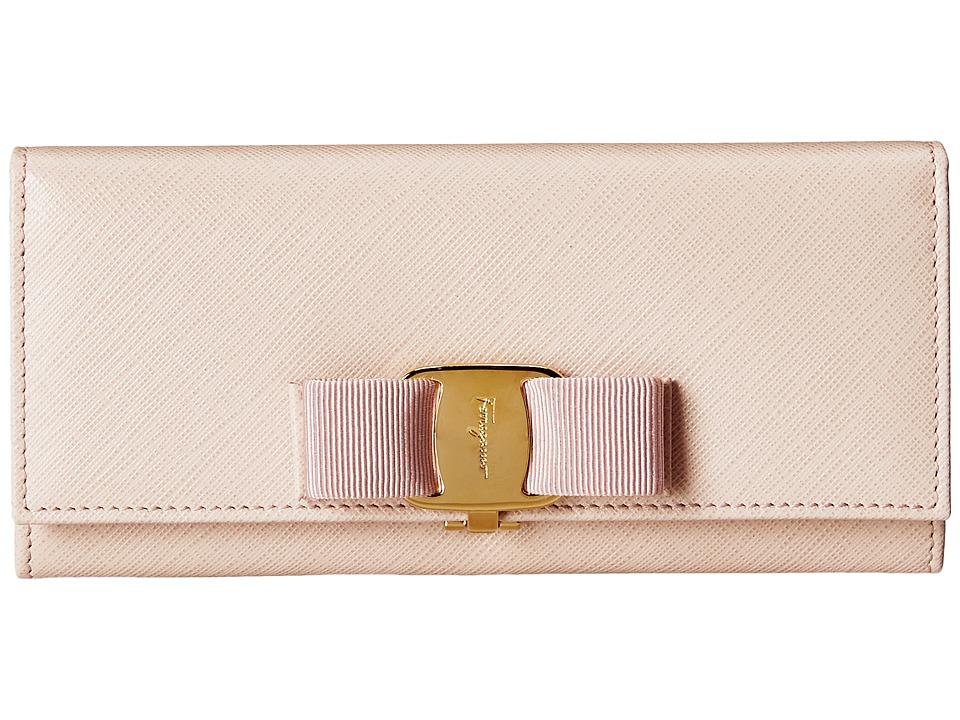 Salvatore Ferragamo - 22B559 (Macaron) Continental Wallet