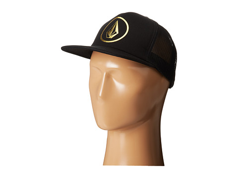 Volcom - Statement Hat (Black On Black) Caps