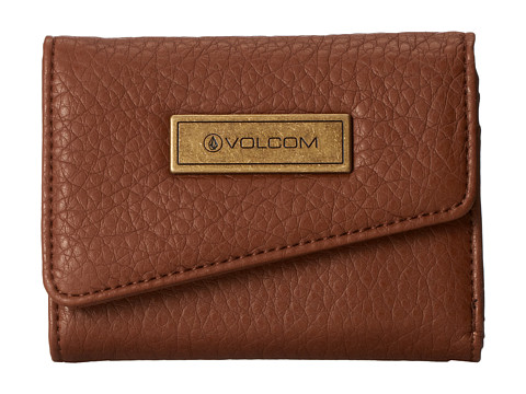 Volcom - Simple Life Wallet (Brown) Wallet Handbags