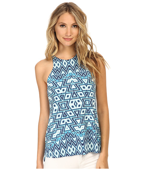 Tart - Marrissa Top (Aqua Aztec) Women's Clothing