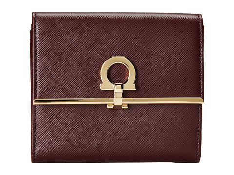 Salvatore Ferragamo - 224639 (Rouge Noir) Wallet