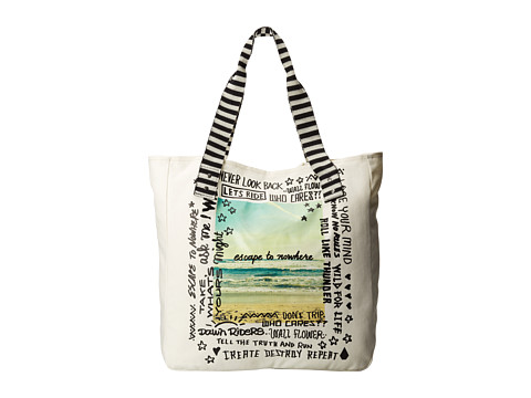 Volcom - Tote It Around (Natural) Tote Handbags