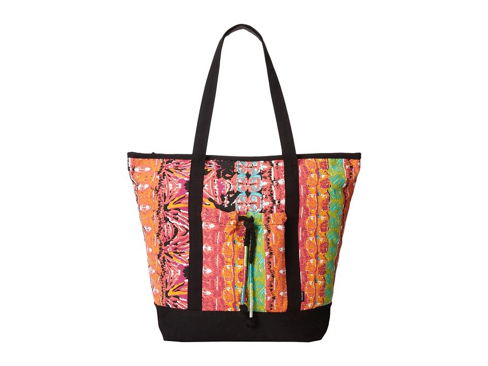 Volcom - Jamon Jamon Tote (Electric Coral) Tote Handbags
