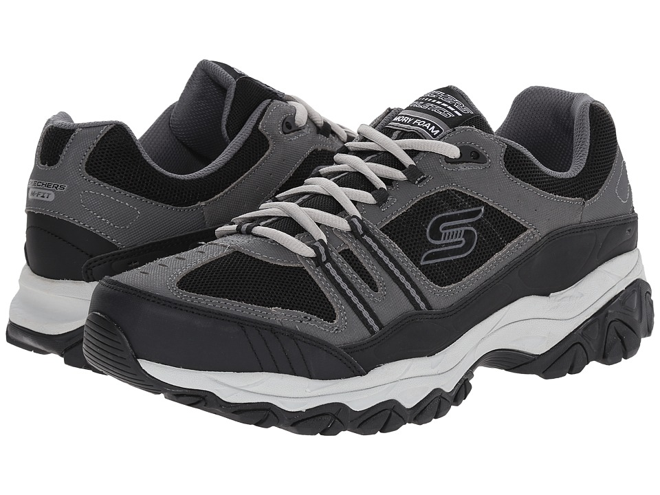 SKECHERS Afterburn M. Fit Strike Off (Charcoal/Black) Men