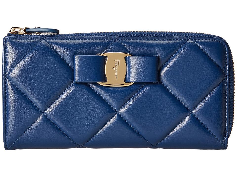 Salvatore Ferragamo - 22C152 (Sapphire) Handbags