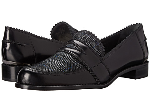 Stuart Weitzman - Schooldays (Jet Mirror) Women's Slip-on Dress Shoes