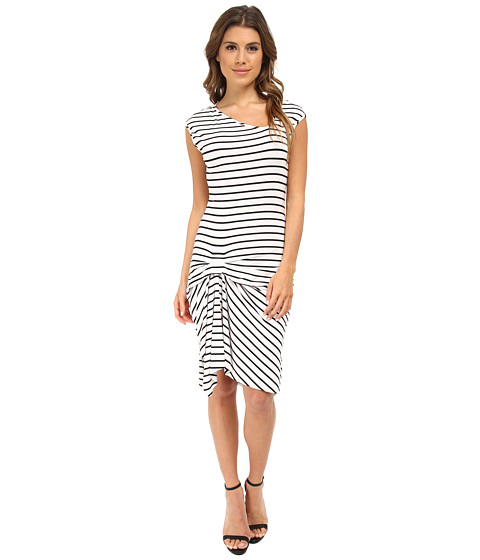 Tart - Reiko Dress (Black/White Stripe) Women