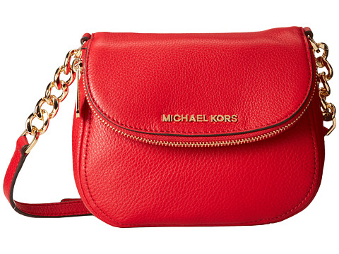 MICHAEL Michael Kors - Bedford Flap Crossbody (Chili) Cross Body Handbags