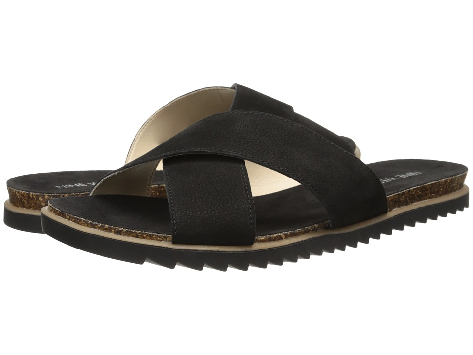 Nine West - Dontjudge (Black Nubuck) Women