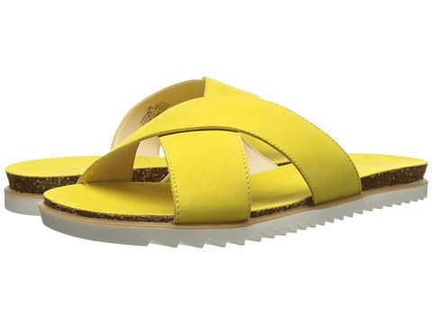 Nine West - Dontjudge (Yellow Nubuck) Women's Sandals