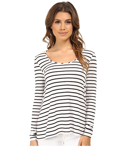Tart - Dina Top (Black/White Stripe) Women