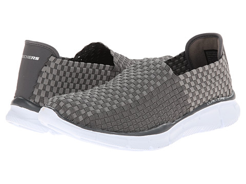 SKECHERS - Equalizer Familiar (Charcoal) Men's Shoes