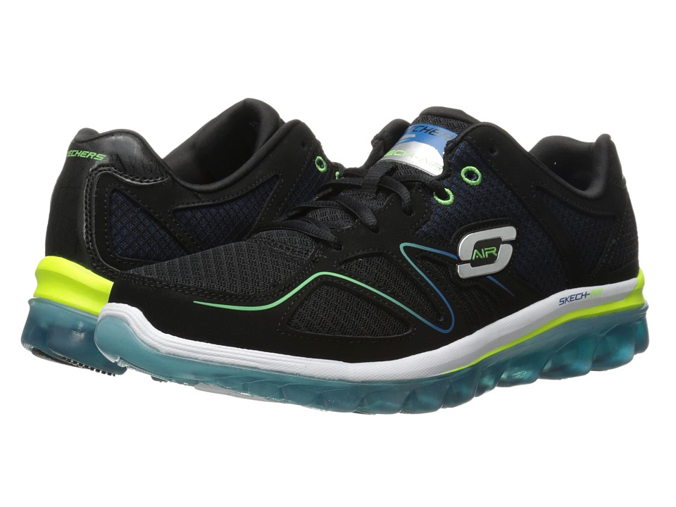 bc823f3237af 884390411192. SKECHERS - Skech Air 2.0 Brain Freeze (Black Blue) Men s Lace  up casual Shoes