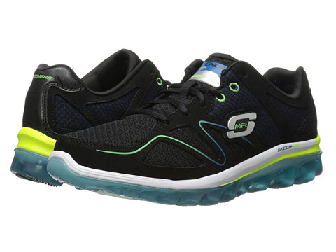 SKECHERS - Skech Air 2.0 Brain Freeze (Black/Blue) Men